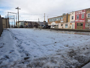 Commercial lot in downtown Dawson Creek