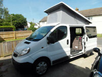 Vauxhall Vivaro Campervan by Camper Monkeys - Air Conditioning - Pop Top