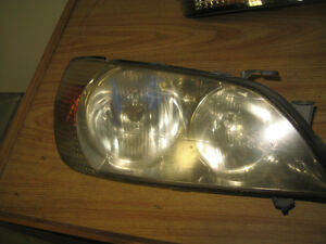 TOYOTA ALTEZZA LEXUS IS300 HEAD LIGHTS JDM LEXUS IS300 HEAD LIGH