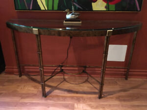 Table murale (console)