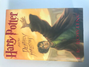 Harry Potter and the Deathly Hallows (Hardcopy) - New and Unused