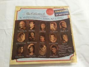 Album de 2 Vinyles 33 Tours, Nos Plus Belles Chansons d Hier