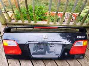 Rust Free Honda Civic Trunk Lid