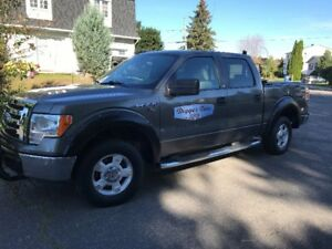 2009 Ford F-150 XLT Pickup Truck Super Crew. Warranty until 2020