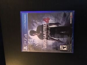 Uncharted 4 SEALED UNOPENED