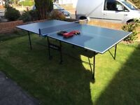 Butterfly ping pong table with extras