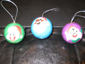 Looney Tunes and Marvin the Martian Christmas Ornaments