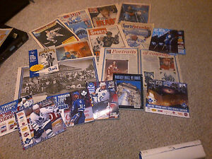 1993 TORONTO MAPLE LEAFS FANS NEWSPAPER SCRAPBOOK COLLECTION WOW Cambridge Kitchener Area image 7