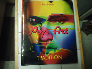 THE POP ART TRADITION W/ DUST JACKET 2006 1ST EDITION