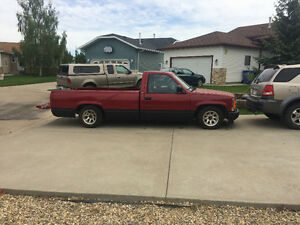 1990 (lowered) GMC pickup long box