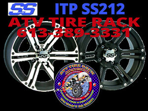 Can-Am RICOCHET Skid Plates Canada  ATV TIRE RACK Custom Colours Kingston Kingston Area image 5