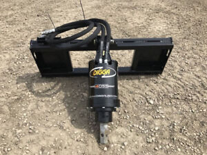 Digga auger drive, heavy duty high torque.