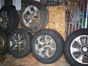 5-Toyota 4Runner 6 bolt rims/Michelins-hitch cargo carrier-roof