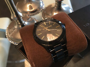 Black and Gold Michael Kors Watch PERFECT CONDITION