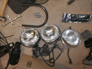 Cafe racer honda headlight light halogen OEM honda