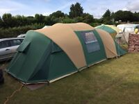 Top of range canvas ten / cabanon biscaya 370 tent £850.00