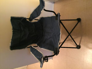 NEW-NEVER used Folding Arm Chairs 'Sportek' (2)