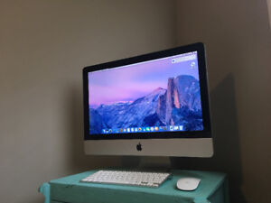 iMac 21.5 inch LED 16:9 widescreen computer