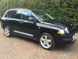 JEEP COMPASS 2.0 CRD 4X4 ONLY 70,000 GENUINE MILES DIESEL