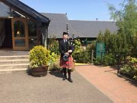 Experienced Bagpiper for Hire - Weddings, Funerals, Parties etc