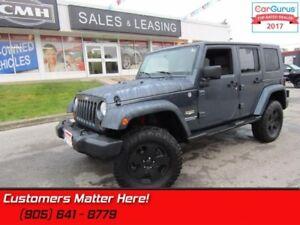 2008 Jeep Wrangler Unlimited Sahara  V6, 4X4, AUTOMATIC, LIFT!