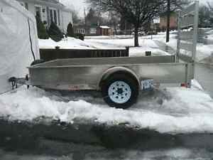 H&H single axle utility trailer Great Deal !!!