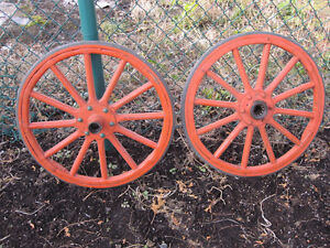 Ford Model T front wheels