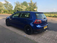 VOLKSWAGEN GOLF MK5 R32 BLUE REP- FIRST TO SEE WILL BUY