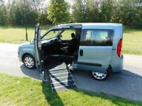 2013 Fiat Doblo MyLife 1.4 PASSENGER UPFRONT WHEELCHAIR ACCESSIBLE VEHICLE WAV