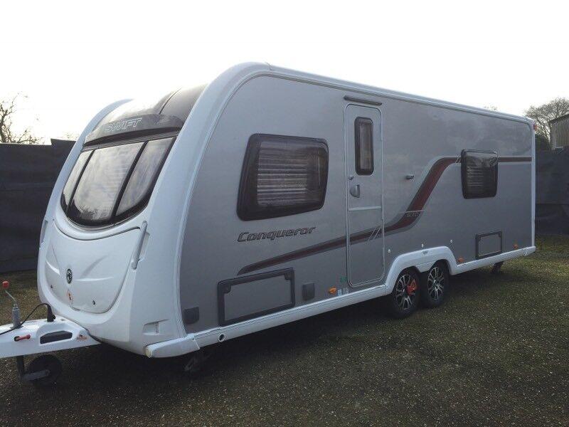Swift conqueror 630 caravan 2012