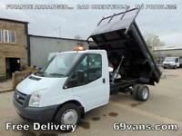 2010 60-REG FORD TRANSIT, TIPPER, DROPSIDE, PICK UP, ## 6 SPEED GEARBOX ##