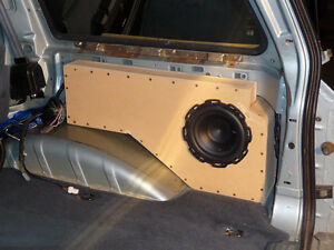 Stealth subwoofer enclosure for 1991-2001 Ford Explorer
