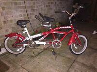 Kids child's tandem bike