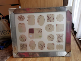 Aperture Smoked Glass Multi Picture Frame Dunelm BRAND NEW