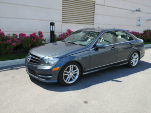 2014 Mercedes C-300 4matic Berline 4 portes