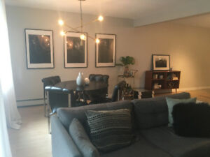 MARCH 1: Massive, Upscale Condo in Marda Loop (Furnished or Not)