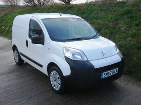 2012 62 Citroen Nemo 1.3HDi 16v 75PS 660 Enterprise Special Edition Van