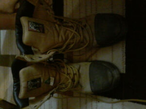 Timberland size 9 mens wrk boot