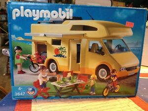 Vintage Playmobile RV Camper 3647