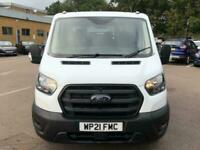 2021 Ford Transit 350 L3 D/Cab 2.0 Tdci 130PS Tipper RWD Double Cab Chassis Dies