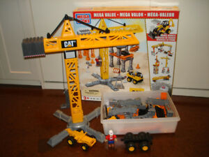 Mega Bloks CAT Tower Crane