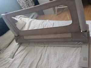 Baby gates and bed rail