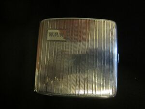 BIRKS STERLING SILVER CIGARETTE CASE