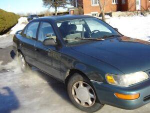Toyota Corolla plus