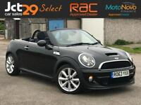 2013 63 MINI ROADSTER 2.0 COOPER SD CONVERTIBLE (VAT QUALIFYING) + LOW MILEAGE