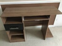 Desk and drawers set