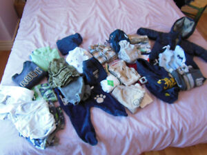 clothing for boys and girls aged 3 month to 3 years