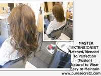 HAIR EXTENSIONS* Receive A DAILY KERATIN Treatment * VOTED #1