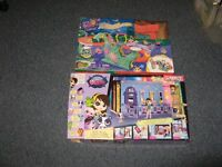 Huge collection  play sets My Little Pony and Littlest Pet Shop