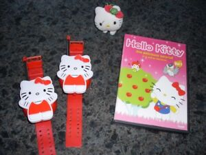 DVD et Walkie talkie Hello Kitty